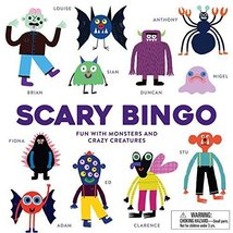 Scary Bingo: Fun with Monsters and Crazy Creatures [Game] [Aug 08, 2017]... - $21.50