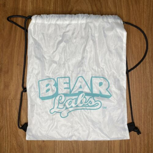 Primary image for Bear Labs White Drawstring Backpack