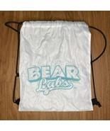 Bear Labs White Drawstring Backpack  - $16.82
