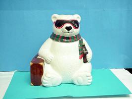 1996 Limited Edition Coca Cola Hollywood Polar Bear Cookie jar - $98.95