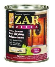 ZAR Ultra 1 Pint  34111 Exterior Oil-Based Clear Satin Polyurethane UGL