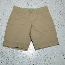 Lee Women's Shorts ~ Sz 10P ~ Beige ~ Above Knee ~ Just Below Waist - $14.84