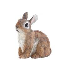 Gardening Decorations, Sitting Rabbit Outdoor Decorative Funny Garden De... - $20.29