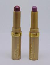 Lot Of 2 L'oreal Colour Fresco Refreshing Creme Eye Shadow Purple 0.05oz / 1.5g - $8.42