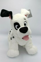 "Disney Store 101 Dalmations Patch Large Plush Toy 17"" Authentic 2014 - $84.99"