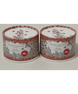 Woods of Windsor England True Rose Anglaise Dusting Powder TWO Poudre Parfumee - $27.72