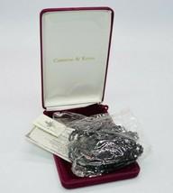 Camrose and Kross Multi-Strand Black Bead Necklace JBK Jacqueline Kennedy - $94.04
