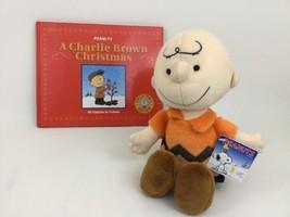 Kohl's Cares A Charlie Brown Christmas Peanuts Orange Charlie Brown Book & Plush - $22.23