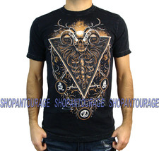 AFFLICTION Guardian Light A12174 Men`s New Black T-Shirt - $37.95