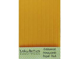 Inky Antics Goldenrod Honeycomb Paper Pad #HCP-GLD