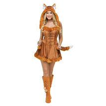 Sexy Female Fox Fur Animal Cosplay Costume Halloween Party Fancy Dress - $37.16