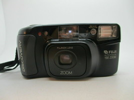 Camera Fuji Discovery 190 Zoom Point & Shoot Film 35mm Auto Focus w/Carry Case - $29.69
