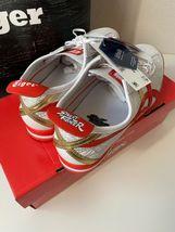 ASICS Onitsuka Tiger Street Fighter Chun Li Shoes Sneakers Red NIB Size 7  image 3