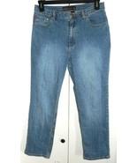 CHICO'S DENIM Jeans Straight Leg Women's 1.5 (10) 31 x 26 - $9.99