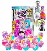 Capsule Chix Ultimix 4- Doll Pack 60+ pieces 4.5 Inch Dolls & Accessories - $49.99