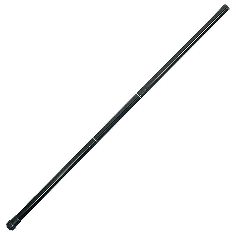 Jackite Fiberglass Poles for Kites & Windsocks - 20 Feet Black