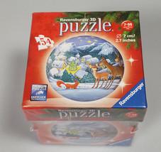 Ravensburger Christmas Puzzle Snowy Village 3D kids gift - $14.61