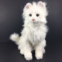 2006 FurReal Friends Lulu White Cat Interactive Sitting Kitty PARTS OR R... - $16.90
