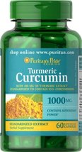 Turmeric Curcumin 1000 mg Standardized Extract with Curcuminoids 3 Bottles - $36.69