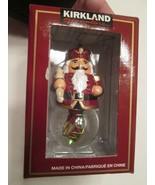 x2t Kirkland Signature Waterglobe Christmas Ornament Nutcracker Toy Soldier - $8.91