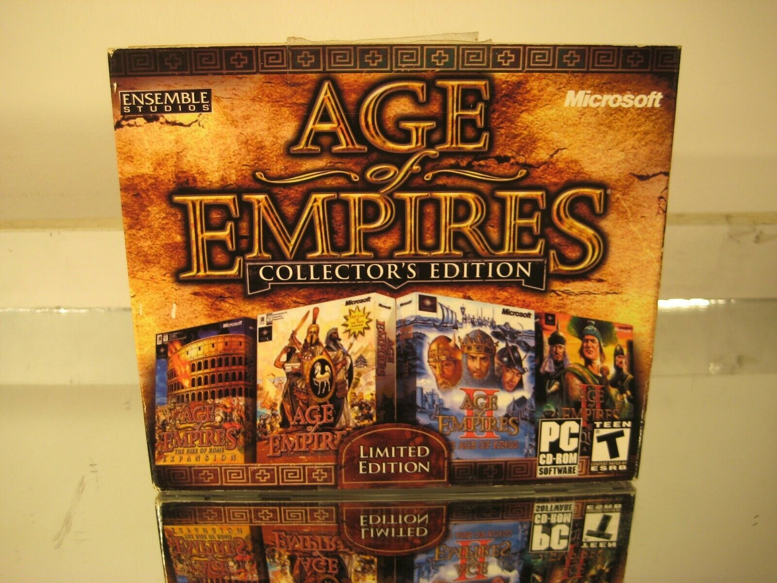 Age of Empires Collectors' Edition 2000 PC CDROM RTS Game