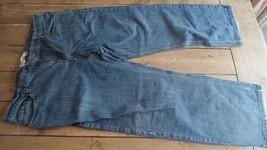 LEVIS 569 LOOSE STRAIGHT DENIM JEANS! MENS W42/L32! DARK BLUE! - $29.69
