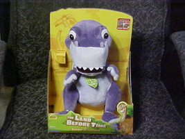 Singing & Talking Chomper Plush Toy With Box The Land Before Time Playma... - $140.24
