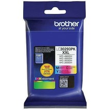 Brother LC30293PK Super High Yield Three Color Ink Cartridge - $69.29
