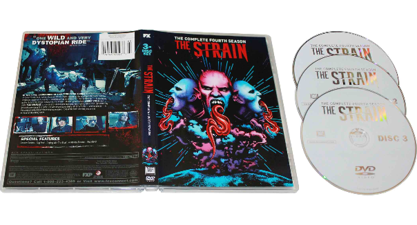 The Strain The Complete Fourth Season 4 DVD Box Set 3 Disc Free Shipping