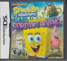 SpongeBob SquarePants: Plankton's Robotic Revenge (Nintendo DS, 2013) DS... - $20.57