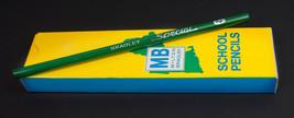Vintage Box of 12 Milton Bradley #2 Green Special School Pencils - $24.70