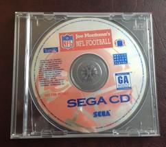 SEGA CD JOE MONTANA NFL FOOTBALL VIDEO GAME - DISC ONLY - FREE SHIPPING - $9.99
