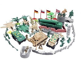 60 pieces Army Set Jets with Aircraft Carriers Missile Silo Tank - $26.49