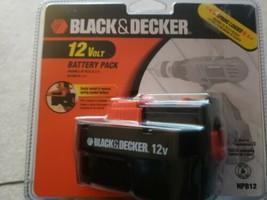 Brand New Black and & Decker HPB12 12V Volt Slide Battery Pack Genuine O... - $35.64