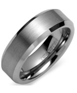 Tungsten Carbide Wedding Band Ring - Silver Color - Price for one ring -   - $39.99