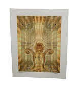 """Gwyllm Llwydd """"The Gatekeeper"""" signed Blotter Art Print Psychedelic Art ... - $39.60"""