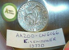 Eisenhower 1977 D Silver Dollar AA20D-CN6066 image 5