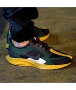 Nike Pegasus 35 Turbo Gyakusou Mens Running Shoes Green Fir Gold BQ0579-... - $104.97