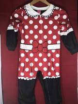 """Disney """"Minnie Mouse""""  Footie Pajamas Youth Size 5T - $4.95"""
