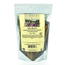 "Starwest Botanicals Organic 6"" Licorice Root Sticks, 4 Ounces image 5"