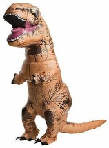Rubie's Adult Official Jurassic World Inflatable Dinosaur Costume Teen T... - $53.19