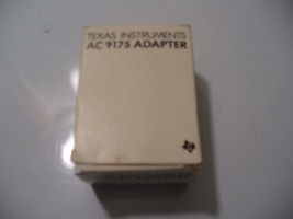 Texas Instruments - AC ADAPTER AC 9175 New in Box Never Used - $4.83