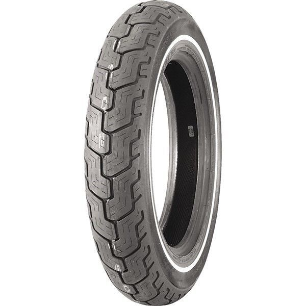 New Dunlop D402 Rear Slim Whitewall SW MU85B16 Harley Tire Tubeless