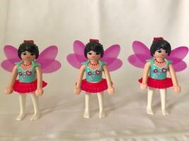Playmobil #6829 Love Fairy Playmo-Friends Lot of 3 Cheap!! - $5.95