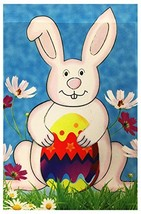 "51groups Happy Easter Decorative Garden Flag 12""X18"" Happy Easter Sign E... - $8.78"