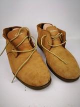 Men's Circa Suede Lace-up Shoes Sz 10 M Leather Up Rubber sole LUX07-12 ... - $29.99