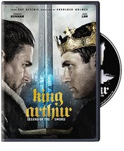King Arthur: Legend of the Sword [DVD, 2017]