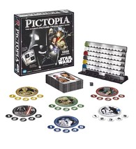 New Star Wars Edition Pictopia Ultimate Picture Trivia Family Game Lucas... - $21.49
