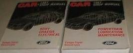 1987 Ford Escort Tempo Mercury Topazio Negozio Riparazione Service Manua... - $19.13
