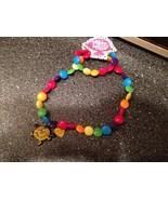 Little Men Little Miss Sunshine Multi Color Stretch Necklace & Bracelet ... - $14.99